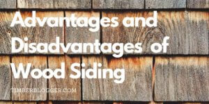 The Advantages And Disadvantages Of Wood Siding