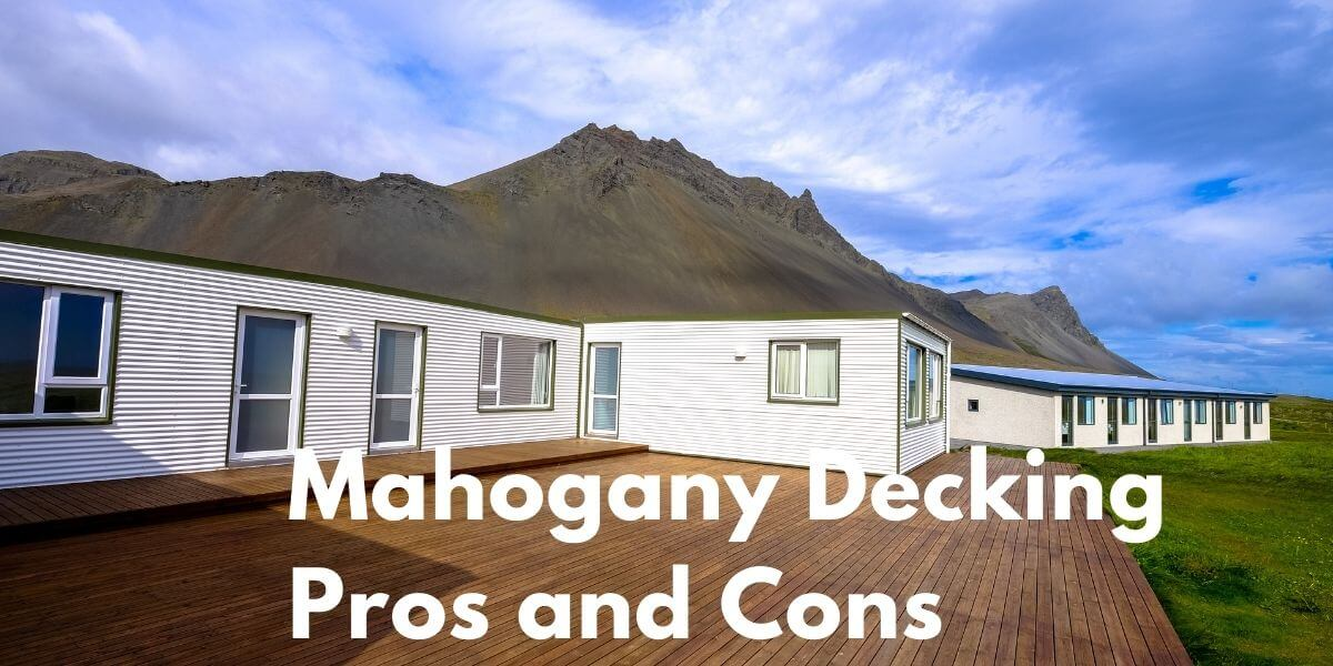 Mahogany Decking Pros and Cons