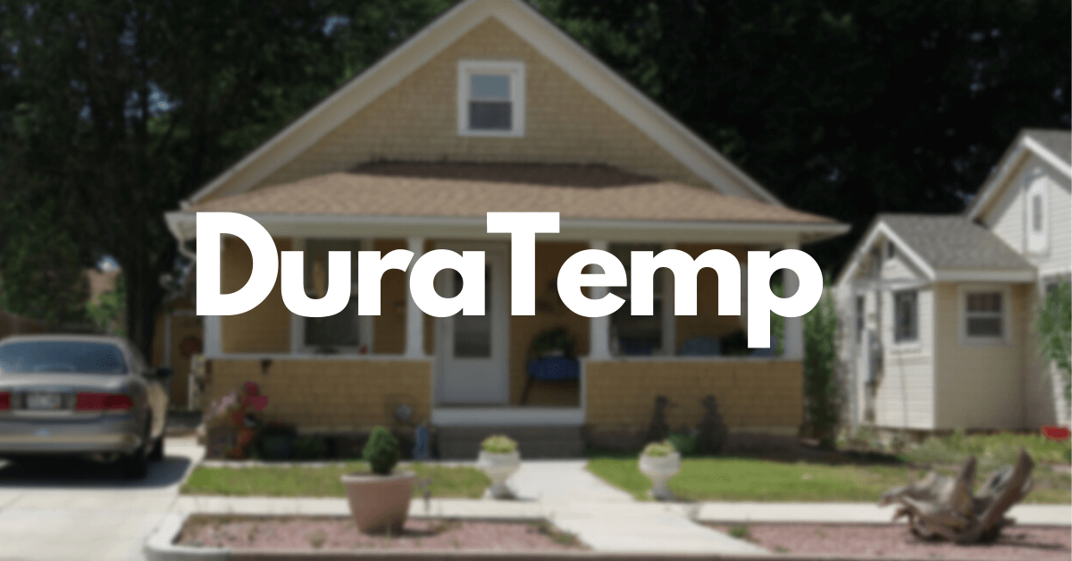 What is DuraTemp Siding?