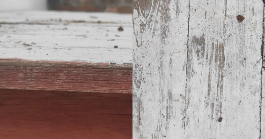 You can see the condition of wood by keeping it outside